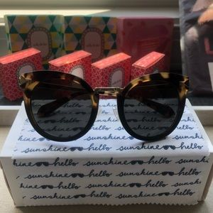 Stella & Dot New w/Box Wesley Sunglasses-Tortoise